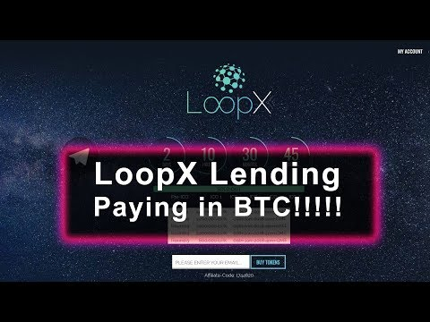 LoopX - Paying in BTC?!?!
