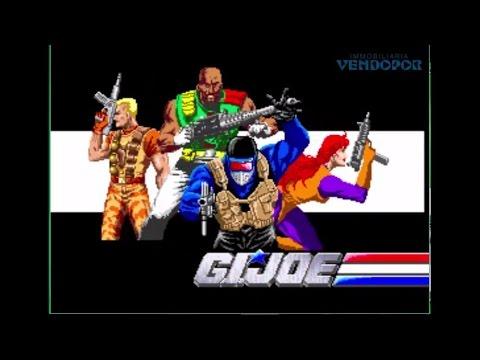 G.I. Joe - 1991 Konami Games Jugando Juegos Arcade CoinOp RetroGaming Gamers Gaming Capcom