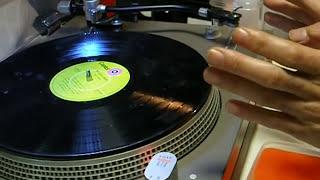 レコードクリーナーA面クリーニング LP Record Cleaning