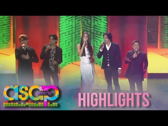 ASAP Natin 'To: Catriona Gray sings with the Kapamilya heartthrobs