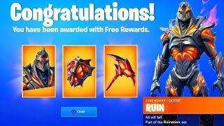 UNLOCK RUIN SKIN CHALLENGES! - FREE REWARDS BACKBLING AND PICKAXE for DISCOVERY SKIN- FORTNITE GUIDE
