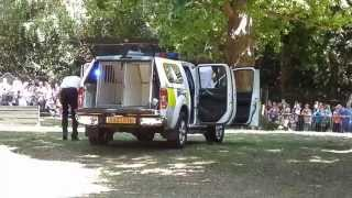 Hants Police Dog Display - Dog Unit And Armed Response - Blank Weapons