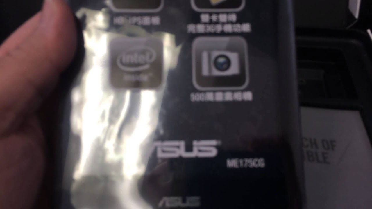 ASUS FONEPAD 7 K00Z ME175CG Unboxing Video - In Stock at  www welectronics com