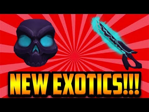 Roblox Assassin Songs Epic Brand New Mystic Exotic Bundle Roblox Assassin Youtube