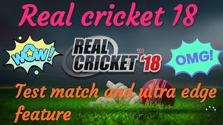 Real cricket 18 1.7 update || real cricket 18 New update || real cricket 18 biggest update || Info.
