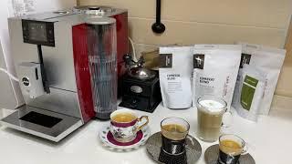 유라 jura 커피 머신, 10년간 찾던 커피 맛