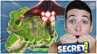 WHAT'S T IT IF ON ATTERRIT ON THE EL DEPART! SECRET Fortnite