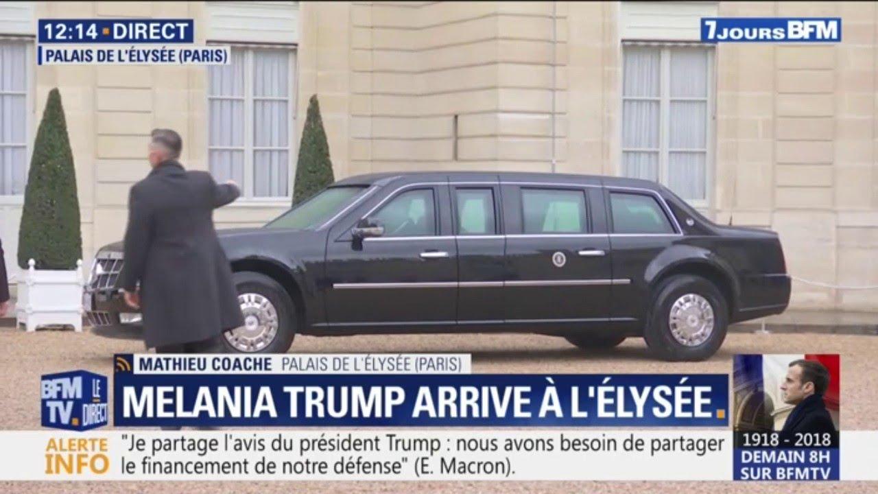 Cadillac One, le véhicule ultra-sécurisé pour la venue de Donald Trump en France