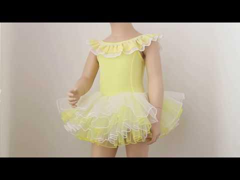 Купальник для танцев с юбкой 1505-2Y