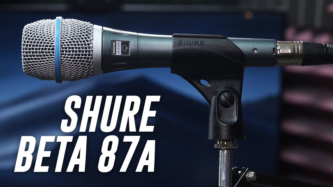 Shure Beta 87a Condenser Mic Review / Test