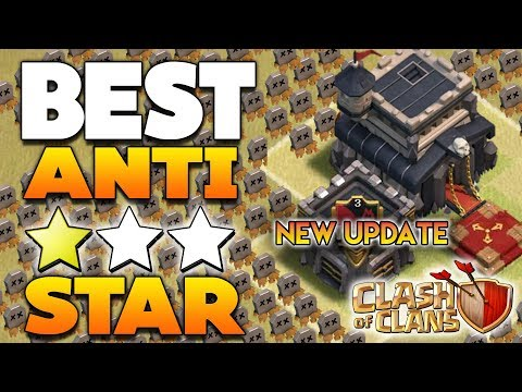 Th9 War Base 2017 Anti 3 Star Anti Everything Anti lavaloon (Town Hall 9) - Clash Of Clans - Coc