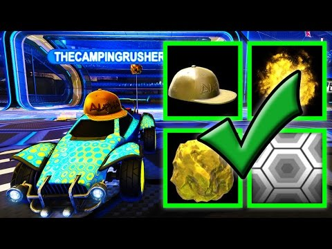 MY MOST EXPENSIVE CAR IN ROCKET LEAGUE IS ALMOST DONE!!