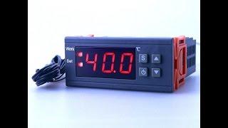 Регулятор температуры MH 1210W, применение с коптилкой из деревянной бочки.(Цифровой регулятор температуры MH 1210W смонтирован на коптильне из деревянной бочки. Позволяет более точно..., 2016-04-16T08:54:20.000Z)