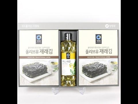 청정원 재래김2호 선물세트
