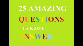 25 Simple General Knowledge (GK) Questions and Answers for kids | PART -1