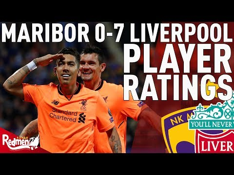Milner Gets A 10! | Maribor 0-7 Liverpool | Player Ratings
