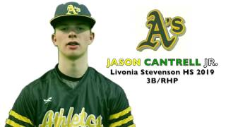 JASON CANTRELL JR  Baseball Skills Video 032017