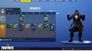 Fortnite - Nana Nana Rare Dance Emote From Tier 63 Battle Pass Reward - Season 8 Battle Royale