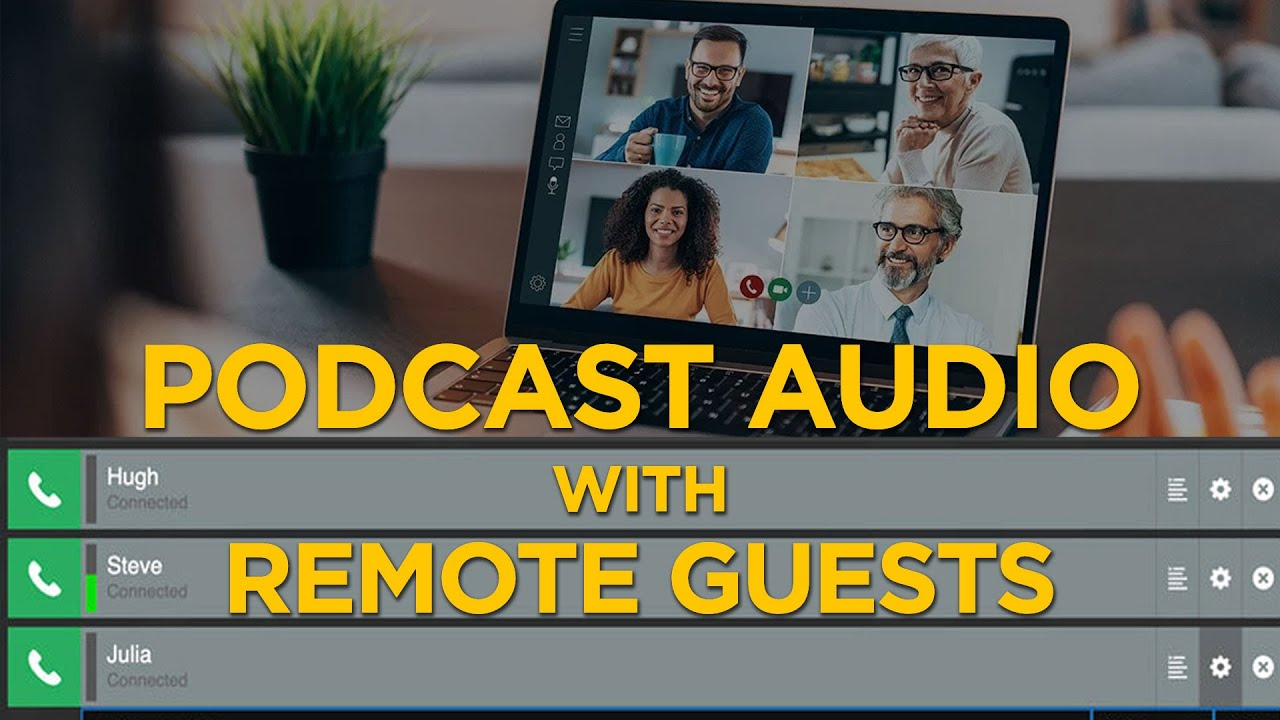 Tired of BAD Zoom Audio? | Get the Best Sound with Remote Guests