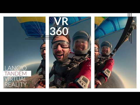 Virtual Reality 360° – Skydiving Tandem Jump