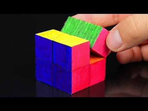How to make Rubik's cube with paper