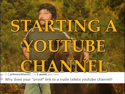 Internet Comment Etiquette: Starting a Youtube Channel