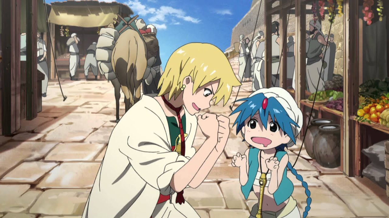 Magi  The Labyrinth of Magic Anime  Trailer HD  YouTube