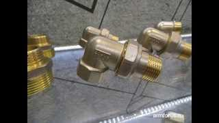 Обзор латунной трубопроводной арматуры ArmForus