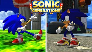 Sonic Generations: 3 Reimagined Stages