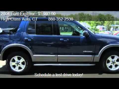 2004 Ford Explorer XLT 4.0L 4WD - for sale in CANTON, CT 060