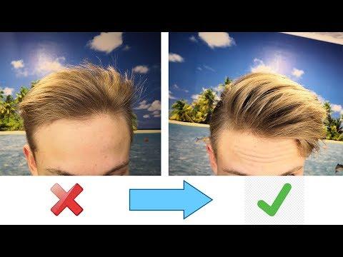 Как сделать мягкие волосы мужчине