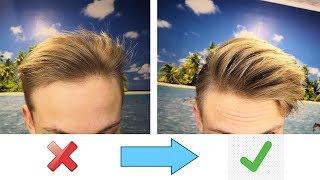 Мужские причёски / 5 Советов, которые помогут сделать объёмную причёску | Быстрая укладка волос