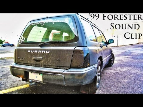 Straight Piped '99 Subaru Forester revs and driveaway