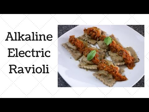 Ravioli Dr. Sebi Alkaline Electric Recipe