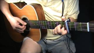 THE LETTER-the boxtops-fingerstyle-chords -cover