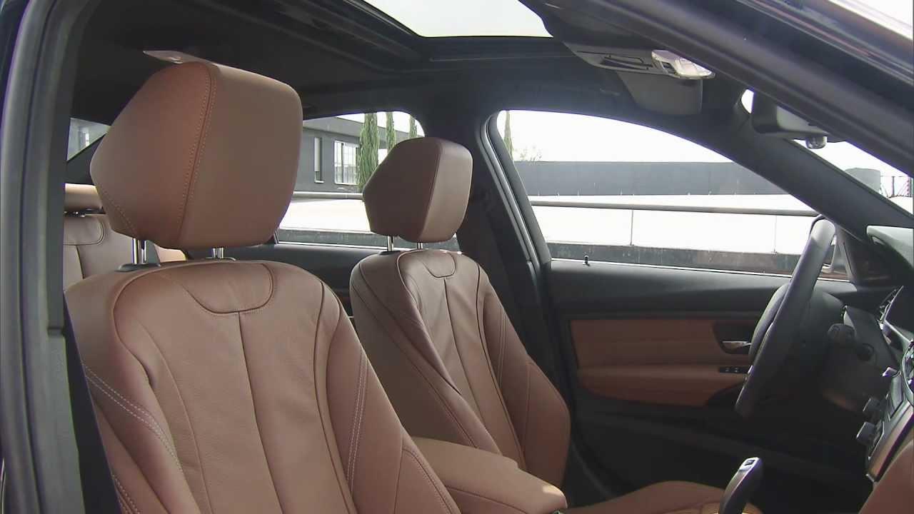 Bmw 328i Luxury Line Interior Design Youtube