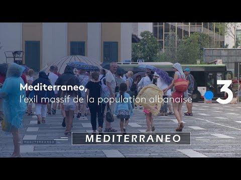 Albanie, L'exil Massif De La Population
