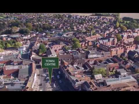 An Aerial Tour of Fleur-de-Lis Wantage, Oxfordshire