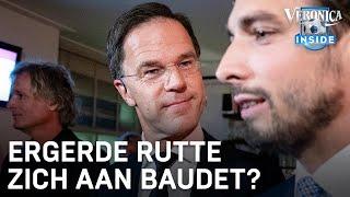 """Mark Rutte over debat met Thierry Baudet: """"Ik heb me geïrriteerd"""""""