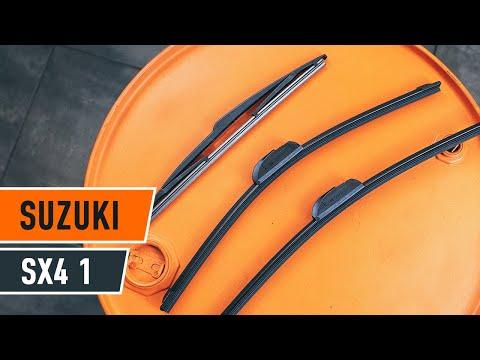 Rear Windshield Wiper >> How to replace rear wiper blades on SUZUKI SX4 1 TUTORIAL ...