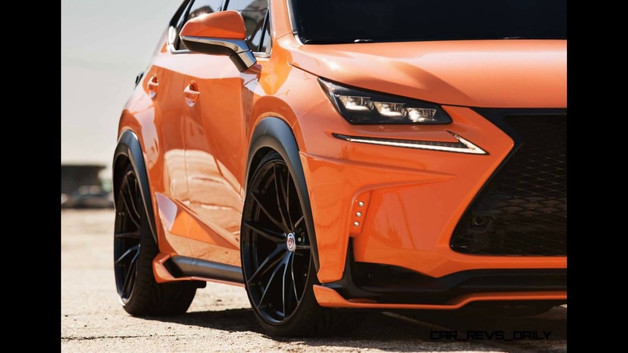 Lexus Nx 200t F Sport Body Kit Custom Youtube