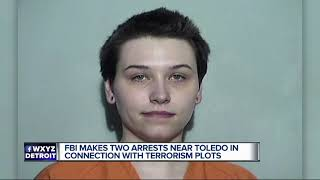 FBI makes two arrests near Toledo in connection with terrorism plots