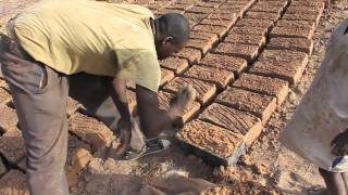 Making a house out of mud bricks. (Real life minecraft) - Smarter Every Day 18