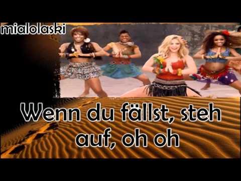 Shakira - Waka Waka (Deutsche Übersetzung)