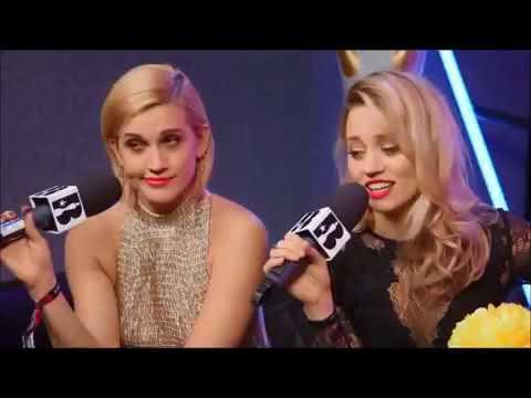 PUSSYCAT DOLLS   Kimberly Wyatt and Ashley Roberts - interview at Brit Awards 2016