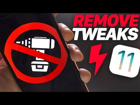 Jailbreak iOS 11: Remove ALL Tweaks & Packages (iOS 11 Semi Restore)