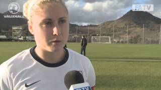 England captain Steph Houghton on her side's 1-1 draw vs Norway in La Manga, Spain