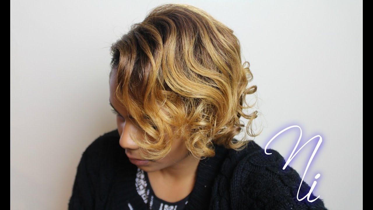 Beginners How To Roller Set No Frizz Short To Medium Length Natural Hair