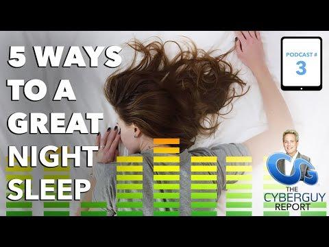 [EP #3] 5 Ways to a Great Night Sleep
