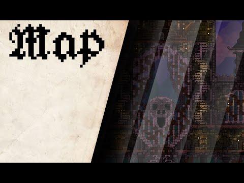видео: СТРОЙКА КАРТЫ - terraria#6 ( ПРОСТО ЗАМОК 666 )